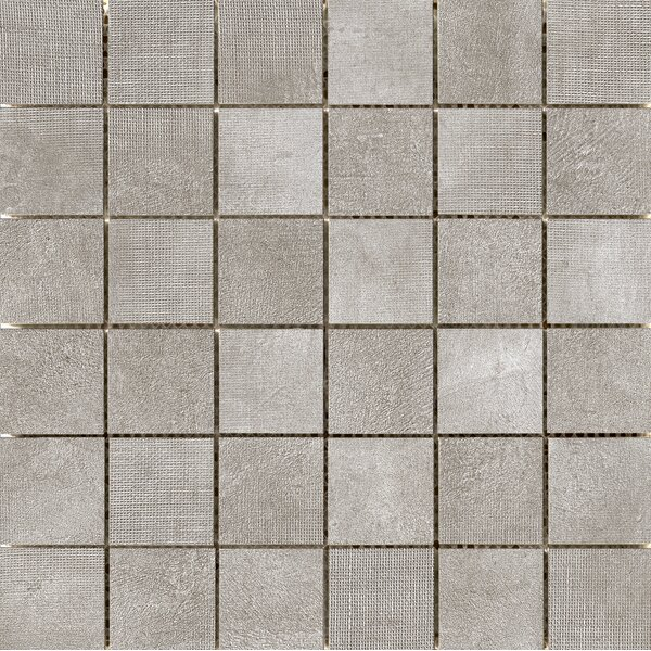 Facade 2 x 2 Porcelain Mosaic Tile in Gray by Emser Tile