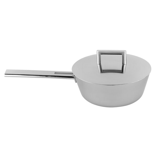 John Pawson Stainless Steel Saucier by Demeyere