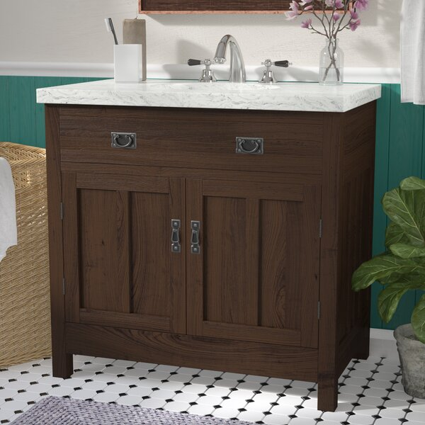 Lindahl 35 Single Bathroom Vanity Set by Three Posts