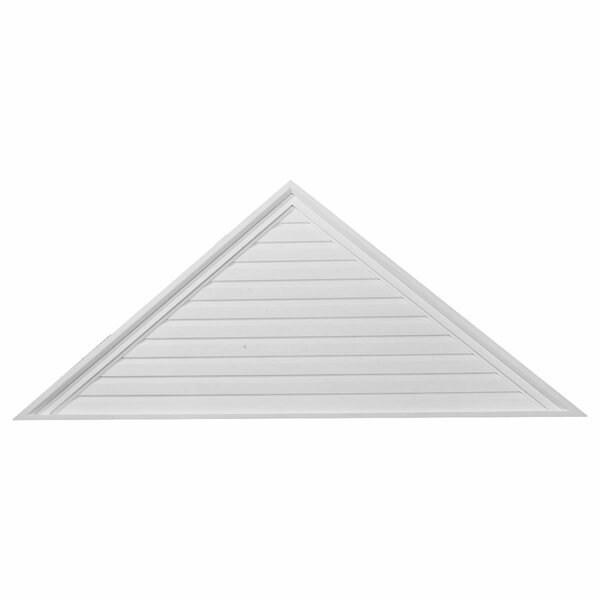 20H x 48W x 2 1/8D Triangle Gable Vent by Ekena Millwork