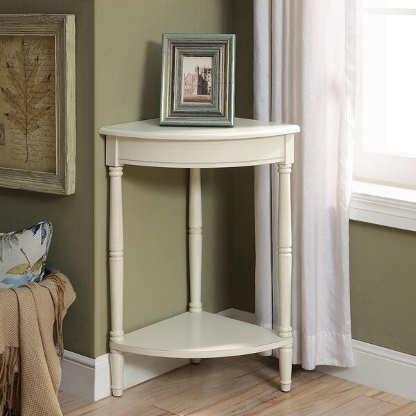 Iker Corner End Table by Charlton Home