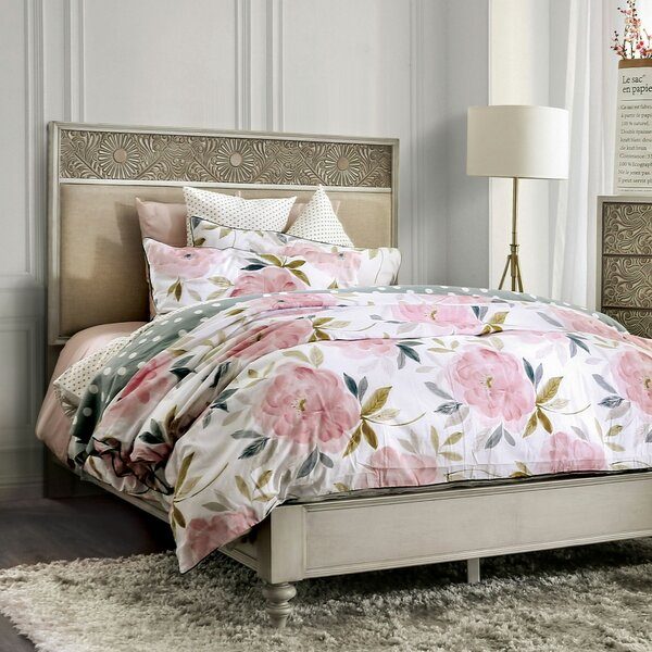 Zeller Upholstered Standard Bed by Ophelia & Co.
