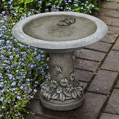 Spring Meadow Birdbath by Campania International