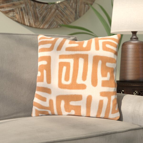 Kreta Linen Throw Pillow by Bungalow Rose