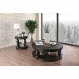 Urbina Wooden Top 2 Piece Coffee Table Set by Charlton Home®