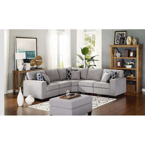 Mera Modular Sectional with Ottoman by Latitude Run