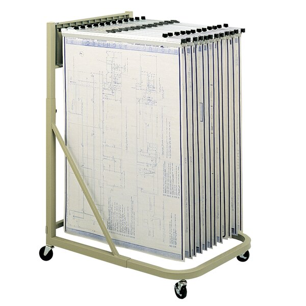 Mobile Stand Hanging Filling Cart by Safco Products Company| @ $769.00