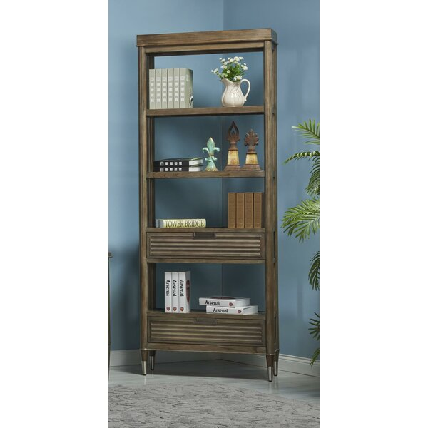 Firenze Etagere Bookcase by Turnkey Products LLC