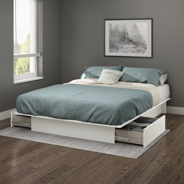 Step One King Storage Platform Bed by South Shore