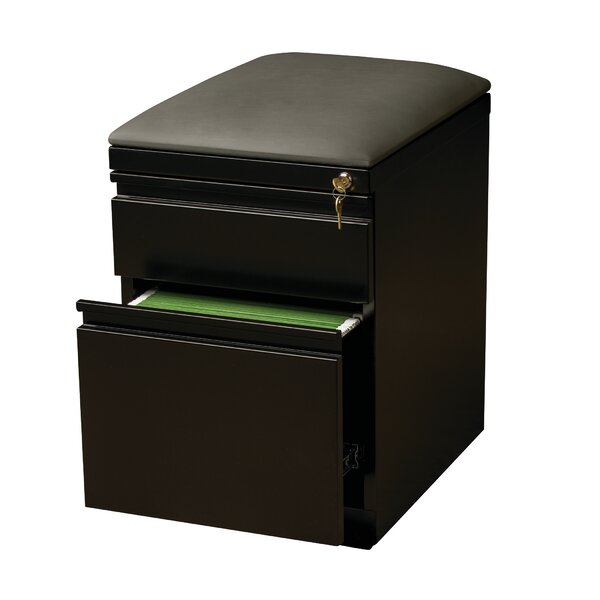 2-Drawer Mobile Pedestal Seat by CommClad