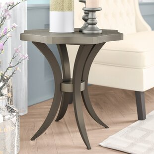 Low priced Bonifácio End Table By Willa Arlo Interiors