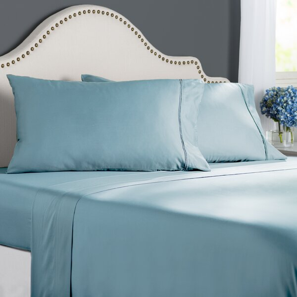 Clarke 300 Thread Count Cotton Sheet Set by The Twillery Co.