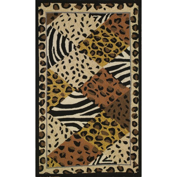 Rowland Animal Print Indoor/Outdoor Area Rug by Bloomsbury Market