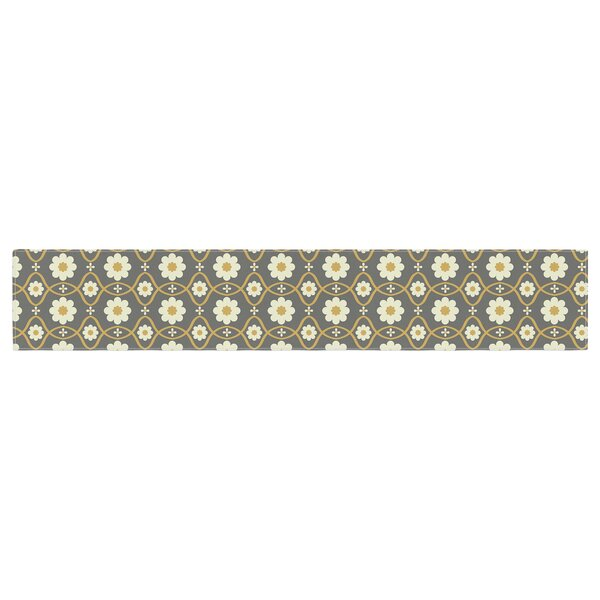 Nandita Singh Floral Pattern Table Runner by East Urban Home