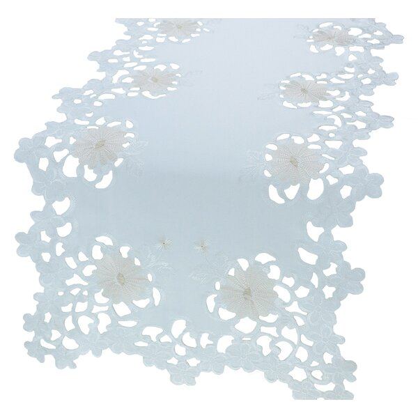 Daisy Divine Table Runner by Xia Home Fashions
