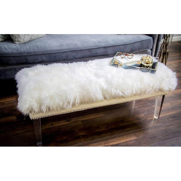 Jeanine Upholstered Bench by Everly Quinn