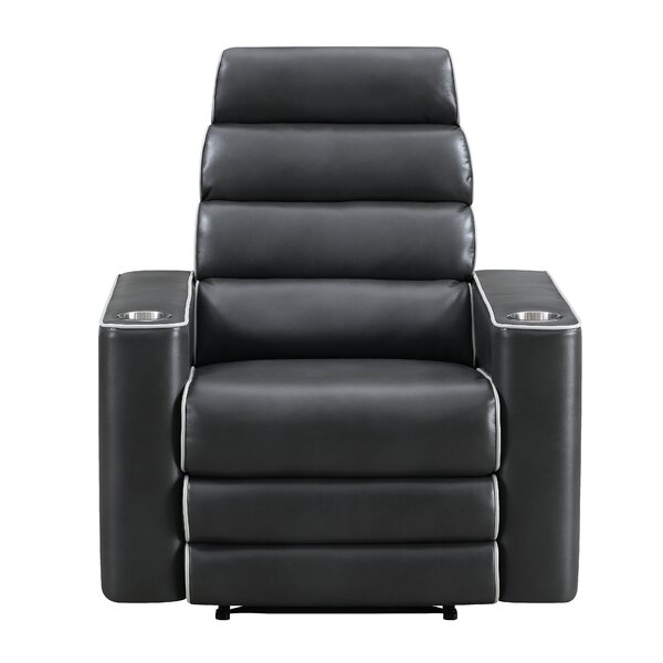 Dilly Channel Tufted Power Recliner By Orren Ellis