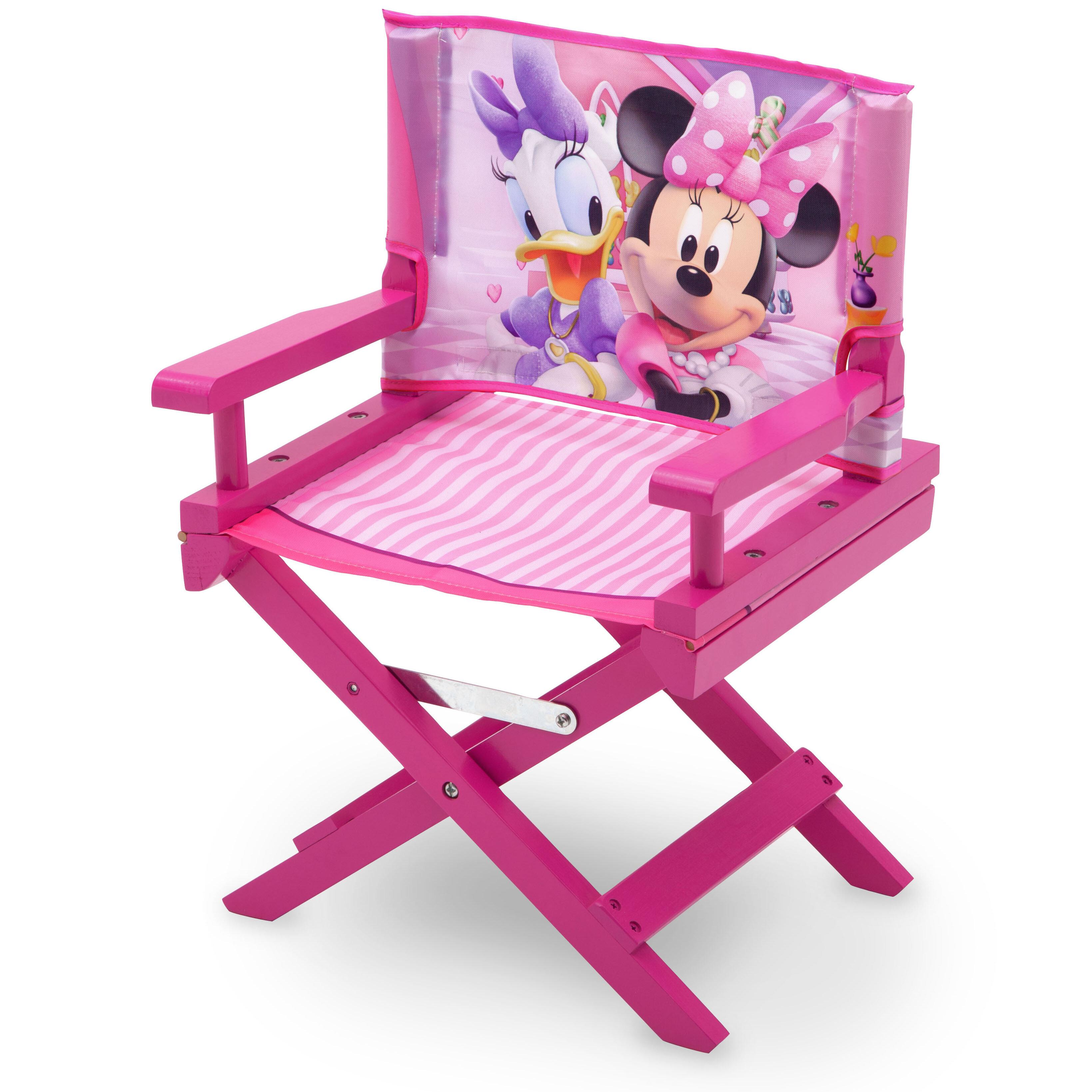 Astounding Minnie Mouse Childrens Chair Customarchery Wood Chair Design Ideas Customarcherynet