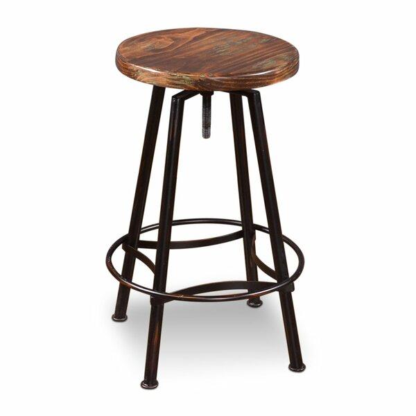 Connery Adjustable Height Bar Stool by Laurel Foundry Modern Farmhouse