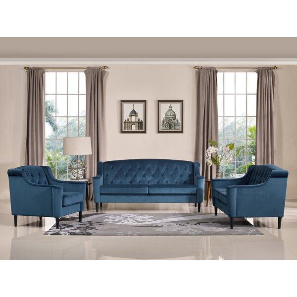 Burton Latimer 3 Piece Living Room Set by Mercer41