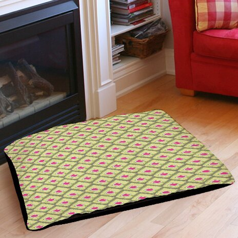 Butterfly Diamond Indoor/Outdoor Pet Bed by Manual Woodworkers & Weavers