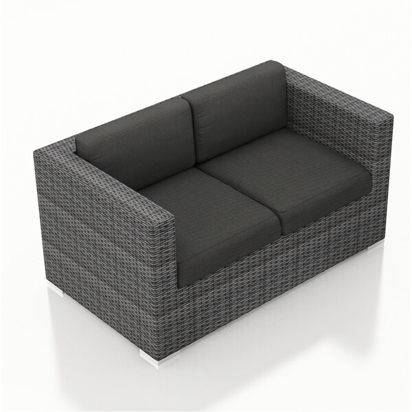 Hobbs Loveseat with Cushions by Rosecliff Heights
