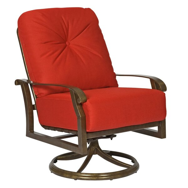 Cortland Extra Large Swivel Rocking Chair by Woodard
