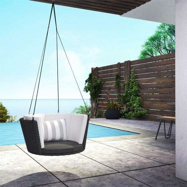Sally Patio Hanging Porch Swing by Novogratz