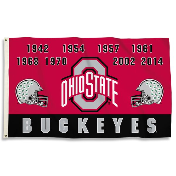 NCAA Champ Years Polyester 3 x 5 ft. Flag by Team Pro-Mark