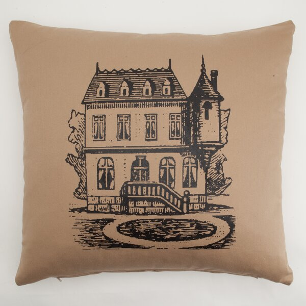 House Down Throw Pillow by Provence Home Collection