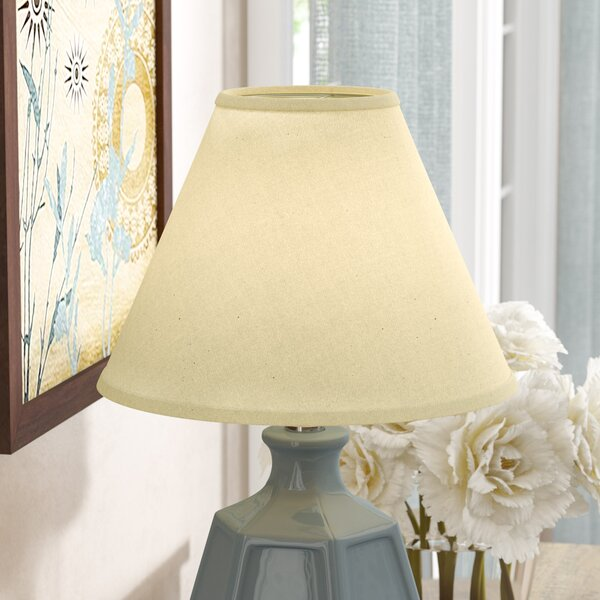10 Linen Empire Lamp Shade by Red Barrel Studio