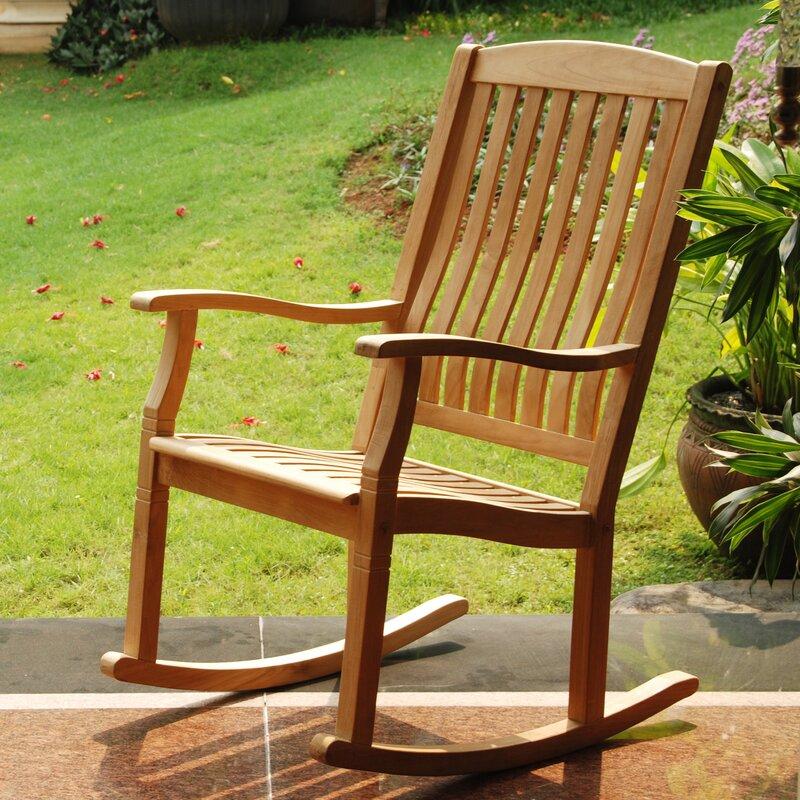 Seymour Porch Teak Rocking Chair