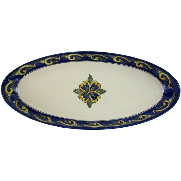 Riya Stoneware Platter by Le Souk Ceramique