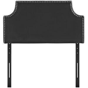 Preciado Twin Upholstered Panel Headboard by Varick Gallery