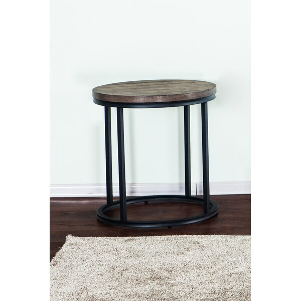 Brockman End Table by Williston Forge
