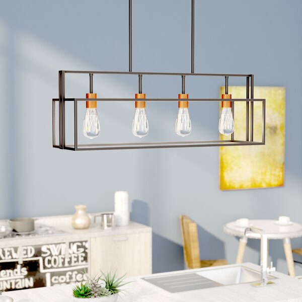 Jefferson 4-Light Kitchen Island Pendant by Trent Austin Design