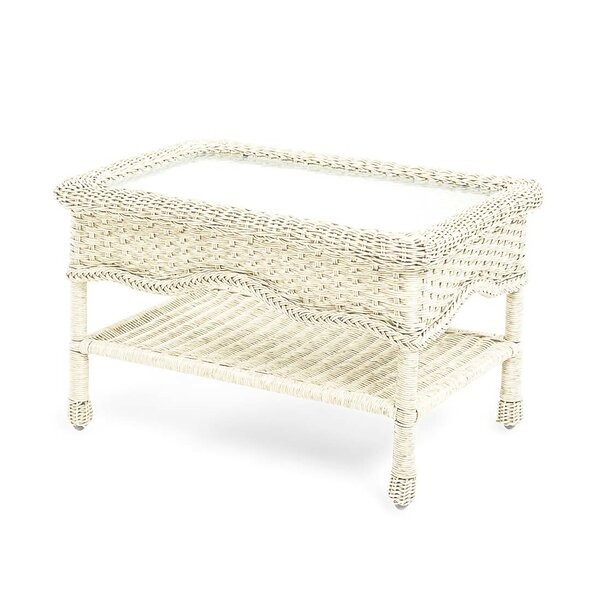 Prospect Hill Glass Coffee Table by Plow & Hearth