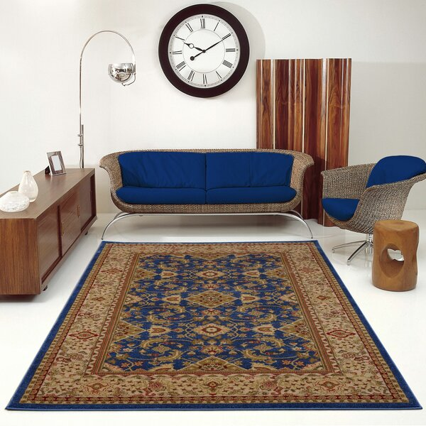 Austell Blue/Beige Area Rug by Astoria Grand