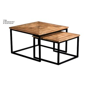 Calder 2 Piece Nesting Tables by Union Rustic