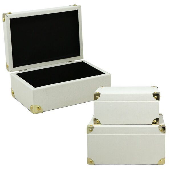 Cloud Faux Leather Storage Box Trunk by Selectives