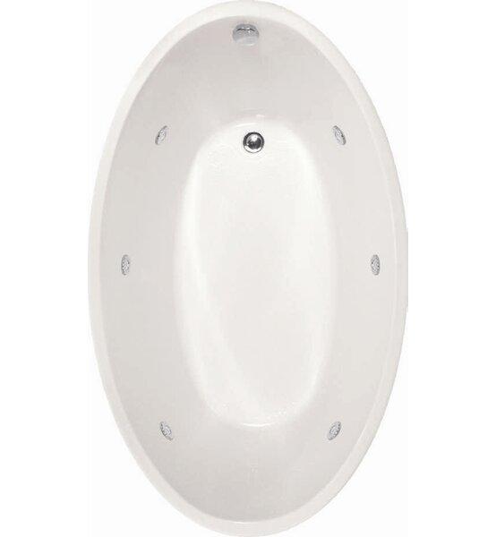 Designer Carli 60 x 36 Soaking Bathtub by Hydro Systems