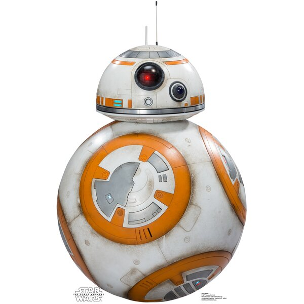 Star Wars Episode VII: The Force Awakens BB-8 Cardboard Cutout by Advanced Graphics