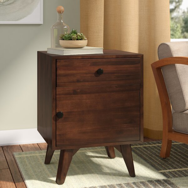 Bodie 1 Drawer Accent Cabinet by George Oliver