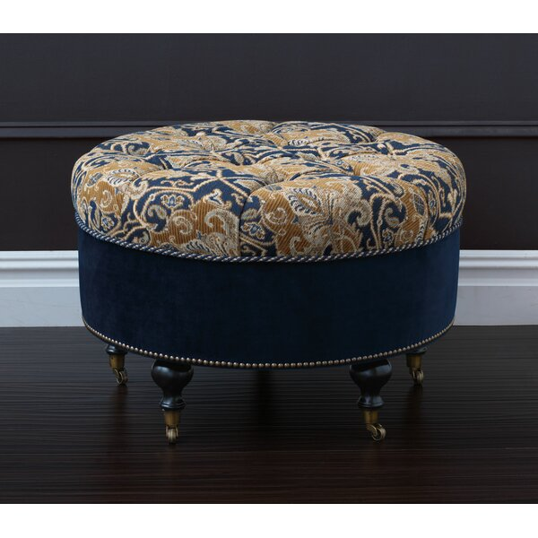 Arthur Tufted Cocktail Ottoman By Eastern Accents