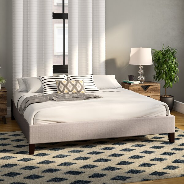 Czarnecki King Upholstered Standard Bed by Ivy Bronx