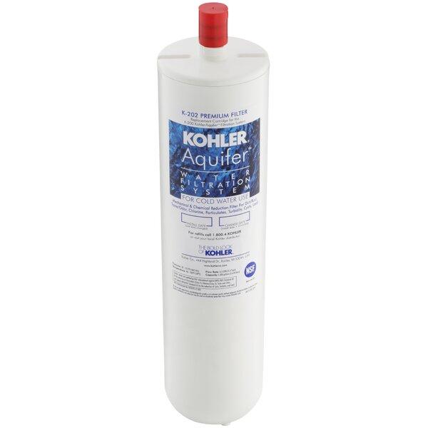 Aquifer Premium Refill Filter Cartridge by Kohler