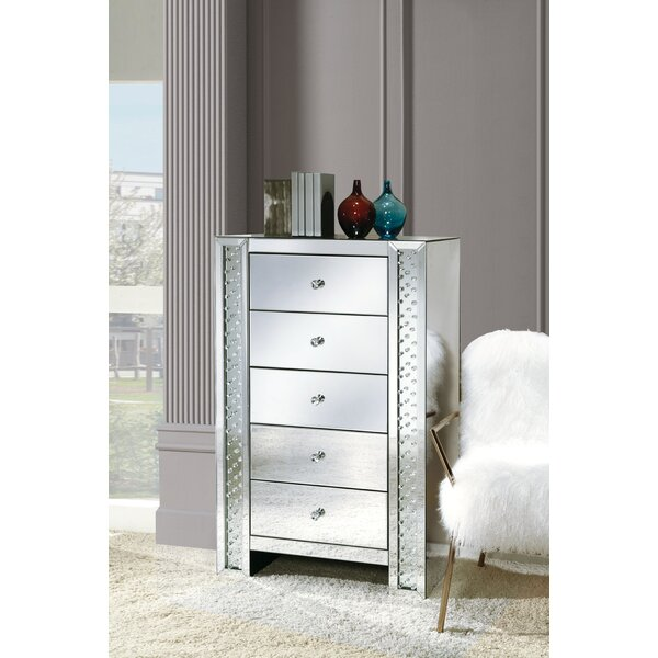 Malmesbury 5 Drawer Chest by Rosdorf Park
