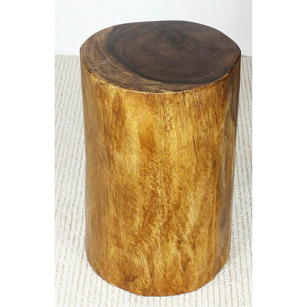 Oakdene Stump End Table by Loon Peak Loon Peak