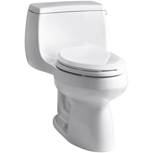 Gabrielle Comfort Height 1.28 GPF Elongated One-Piece Toilet by Kohler