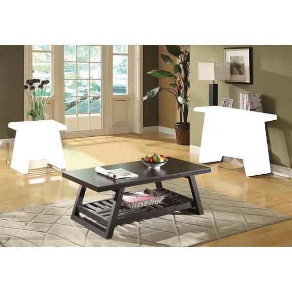 Tocco Sled Coffee Table With Storage By Gracie Oaks